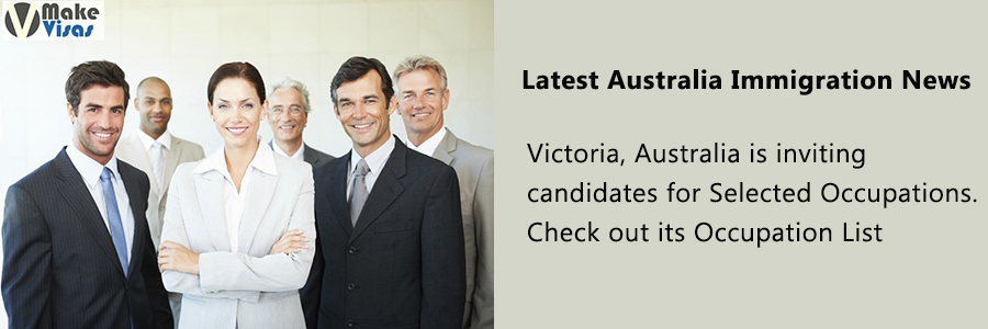 Victoria, Australia is inviting candidates for Selected Occupations