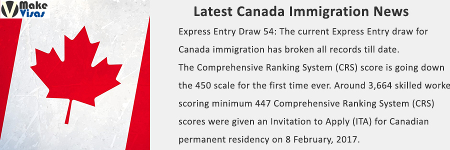 Express Entry Draw 54