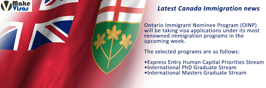 Ontario reopening Immigration programs upcoming week