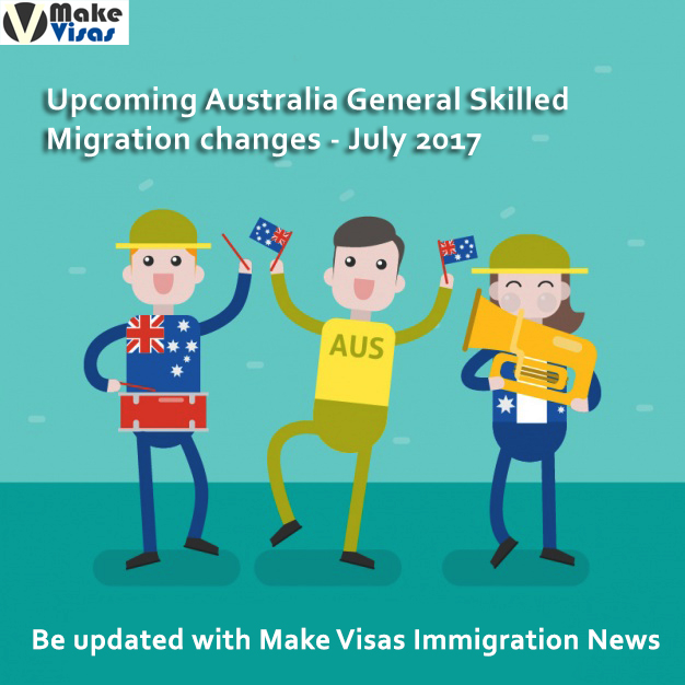 Upcoming Australia General Skilled Migration Changes – July 2017