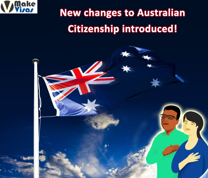 Australian Citizenship Laws undergone recent changes